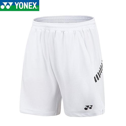 Yonex Badminton/ Tennis Sports Short 120061BCR White MEN'S