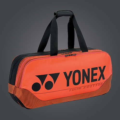 Yonex 6in1 BA92031W PRO TOURNAMENT BAG Copper Orange