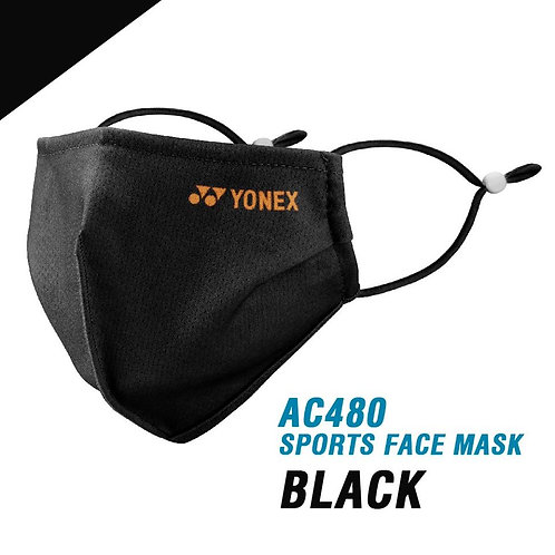 Yonex Face Mask AC480 Black/ Ice Grey
