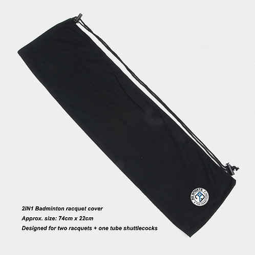 2in1 Badminton Racquet Cover
