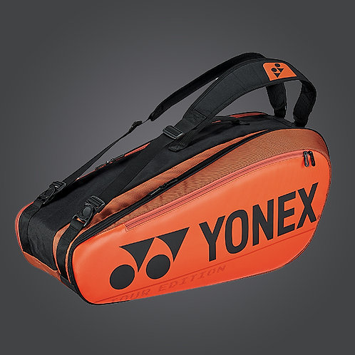 Yonex BA92026 PRO RACQUET BAG (6pcs) Copper Orange