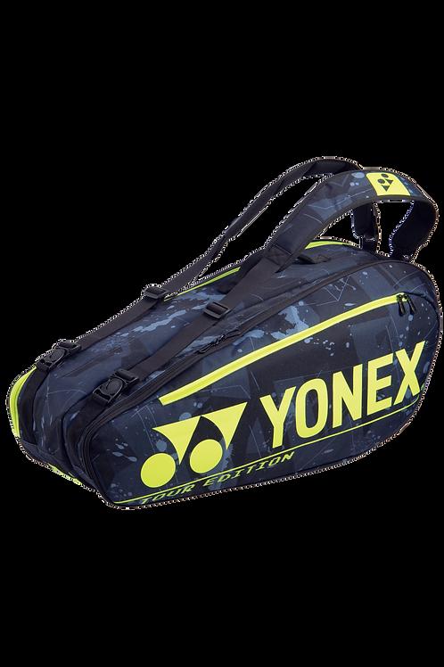 Yonex BA92026EX PRO RACQUET BAG (6pcs) Black/ Yellow