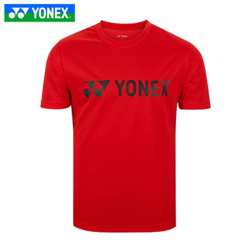 Yonex Badminton/ Sports Unisex Shirt Red