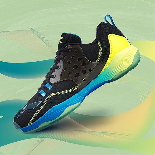 Li-Ning Halberd II IV Badminton Shoes Black/ Green MEN'S