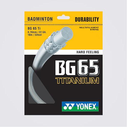 Yonex BG65 Titanium 10M