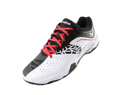 Victor A830III Badminton Shoes White/ Black for Wide Feet MEN'S