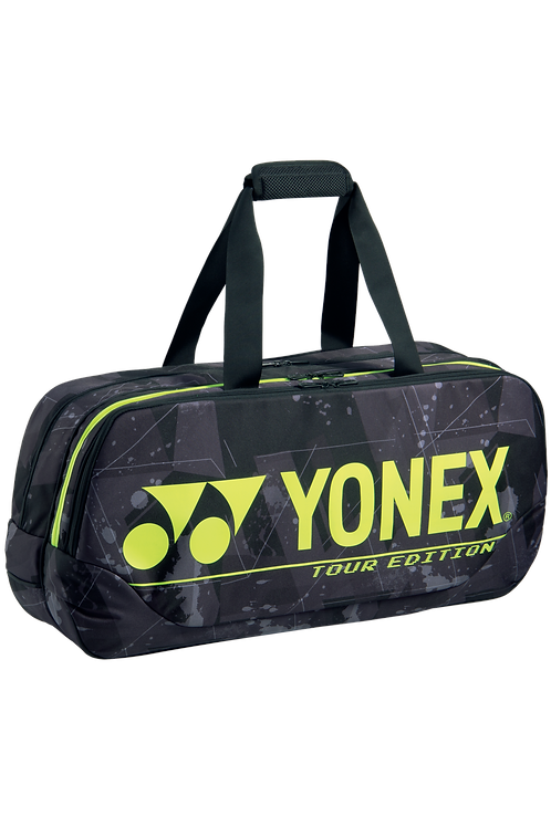 Yonex 6in1 BA92031WEX PRO TOURNAMENT BAG Black/ Yellow