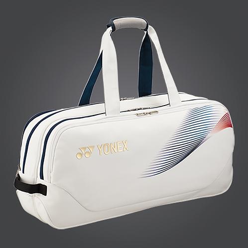 Yonex BA31WLTDEX PRO TOURNAMENT BAG White/ Gold