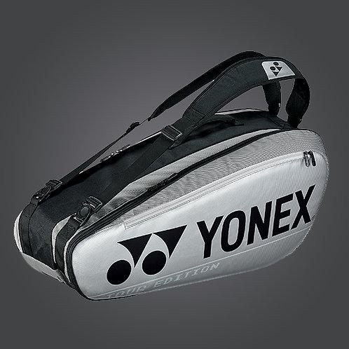 Yonex BA92026 PRO RACQUET BAG (6pcs) Silver
