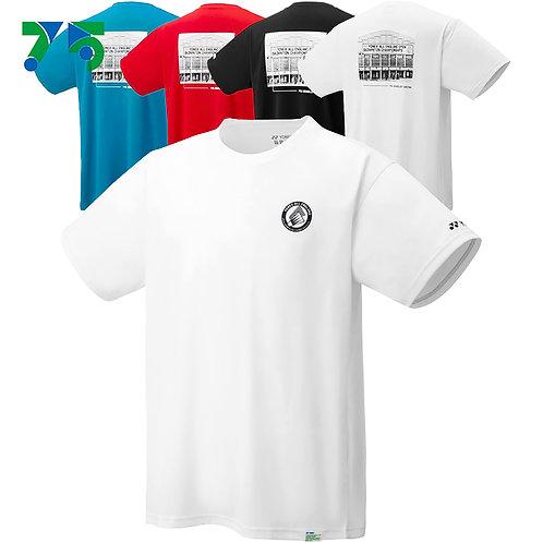 YONEX 2021 ALL ENGLAND x 75TH ANNIVERSARY UNISEX Badminton/ Tennis T-SHIRT