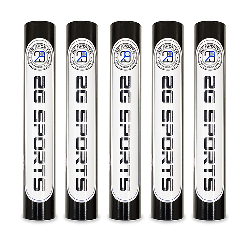 2G SPORTS BLACK label Badminton Feather Shuttlecocks Five Tubes