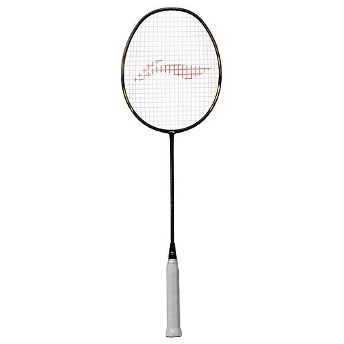 Li-Ning Windstorm 78 Plus Lightweight Badminton Racquet Black/ Gold