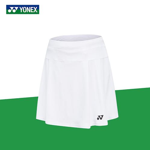 Yonex Badminton/ Tennis Sports Skirt 220091BCR White