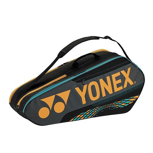 Yonex Team Series Badminton/ Tennis Sports Bag 6pcs Camel Gold