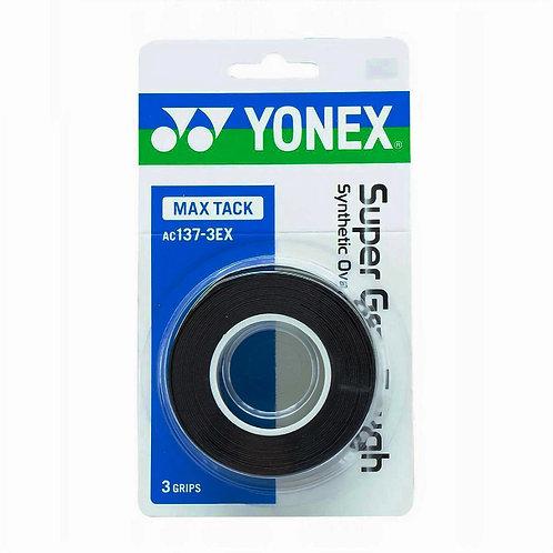 Yonex AC137-3EX MAX TACK SUPER GRAP TOUGH (3 wraps)