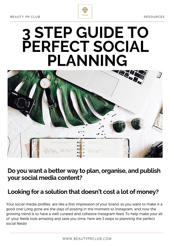 3 Step Guide To Perfect Social Planning.