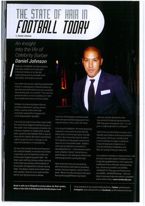 Footballers Lives  Article Gorgeous Work Consulting Marketing and PR Services