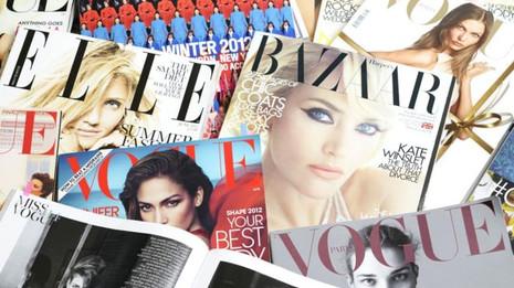 Print Magazines beauty and wellness PR