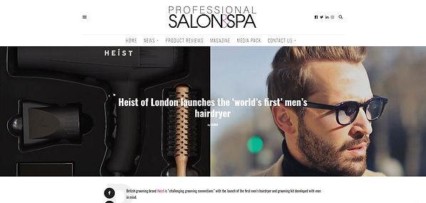 Professional Salon and Spa Magazine - He