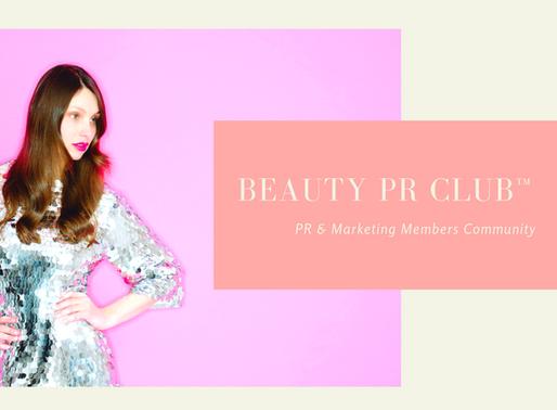 Beauty PR Club Monday Motivation