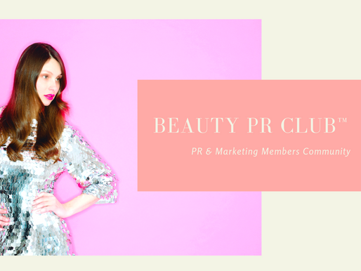 Beauty PR Club Monday Motivation