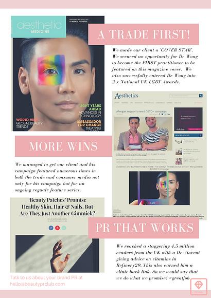 Dr Vincent Wong and #IAMME Campaign case