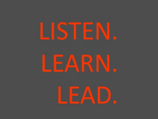 Why leaders must listen