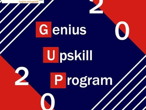 [GUP] GENIUS UPSKILL PROGRAM RECRUITMENT