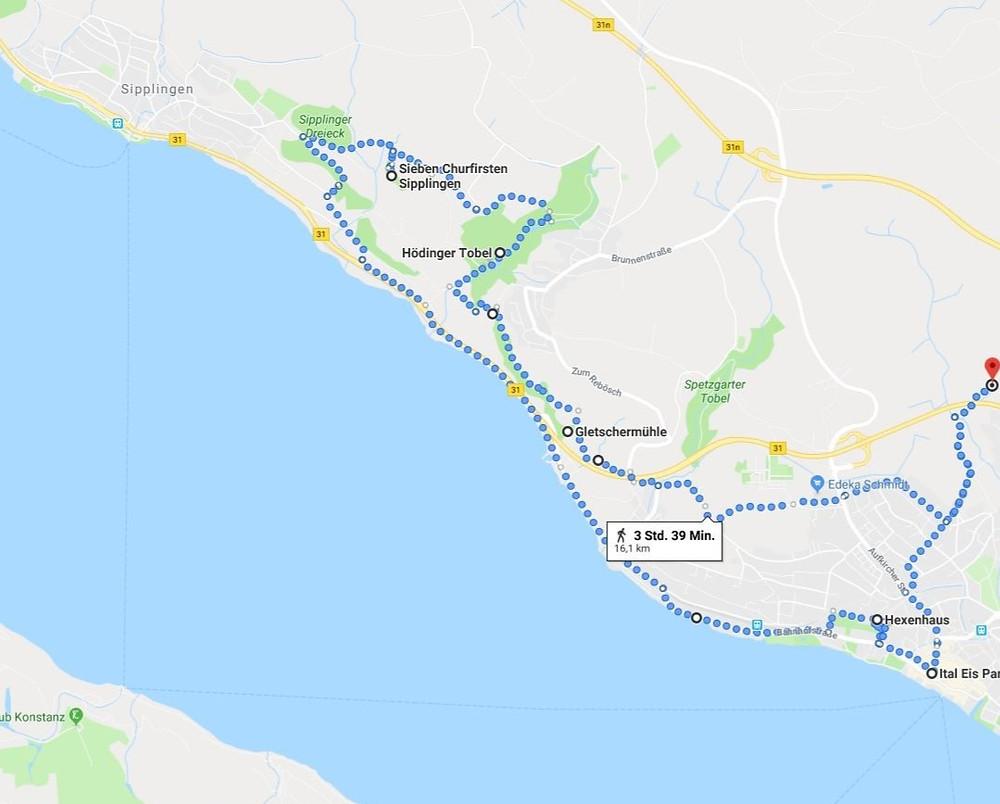 Wunderschöne E-Bike Tour entlang der Klippen von Goldbach