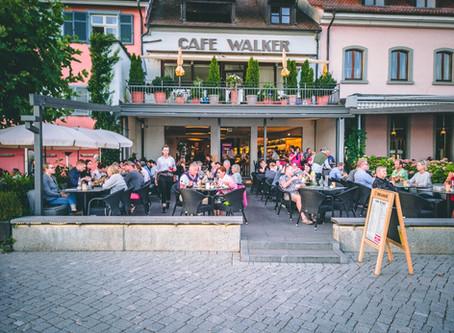 Cafe Walker an der Promenade in Überlingen
