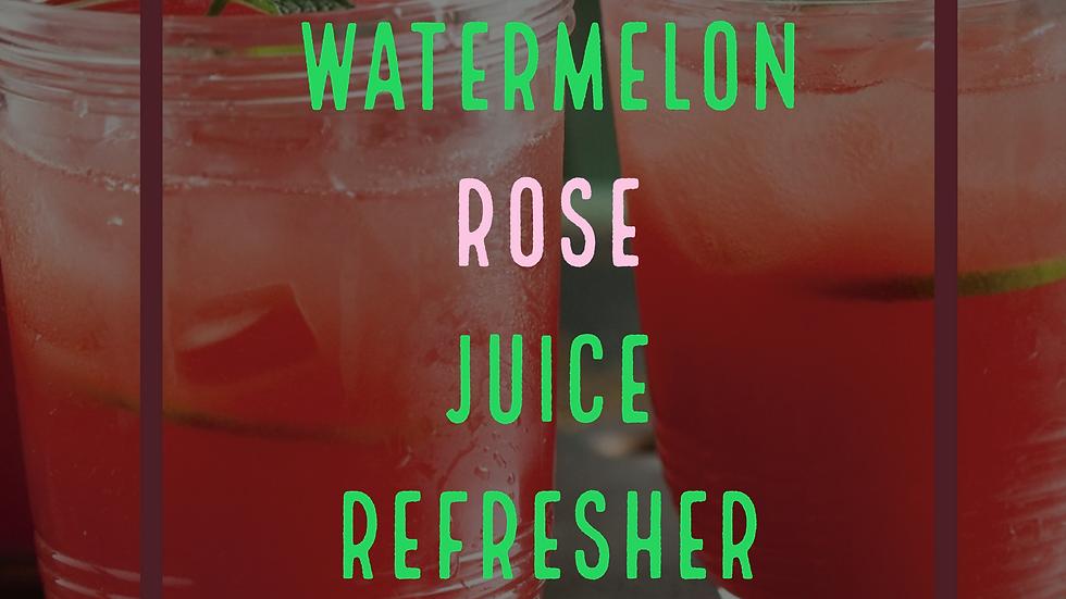 WATERMELIN' ROSE JUICE REFRESHER