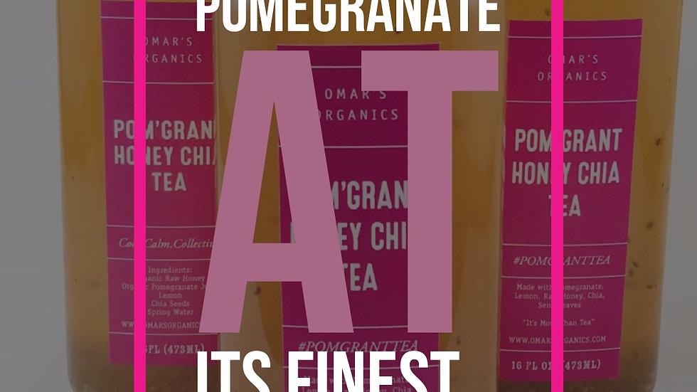 POM'GRANT HONEY CHIA TEA