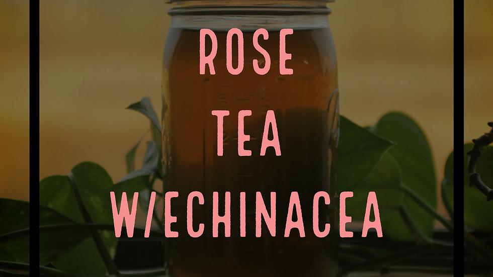 ROSE TEA w/ECHINACEA