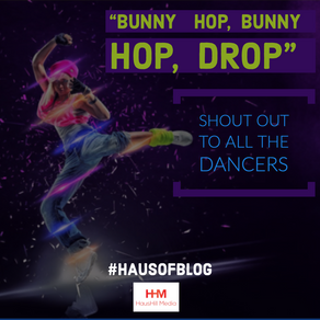 """""""Bunny Hop, Bunny Hop, Drop"""" - Shout Out To All The Dancers"""