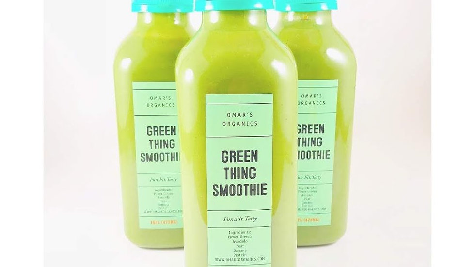 GREEN THING SMOOTHIE
