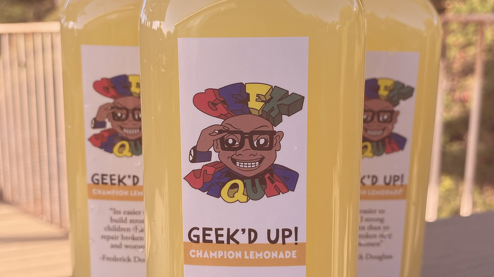 Geek'D Up! Champion Lemonade