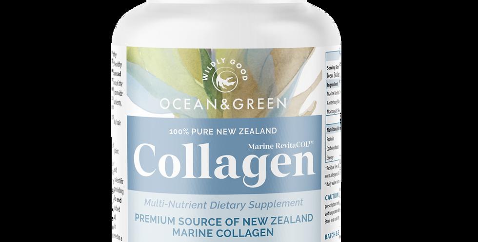 100% Pure New Zealand Marine Collagen Supplement (Capsules)