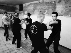 Group Chi sao Grobbendonk - zwartwit