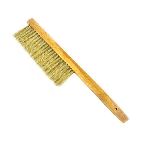 Metlička 2-radová prírodná, drevená rúčka
