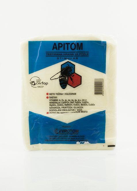 Stimulačno-liečivé cesto pre včely APITOM-S ®  s vitamínmi a minerálmi 1kg