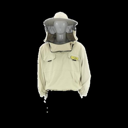 Košeľa s odnímateľným klobúkom bez zipsu - CLASSIC line