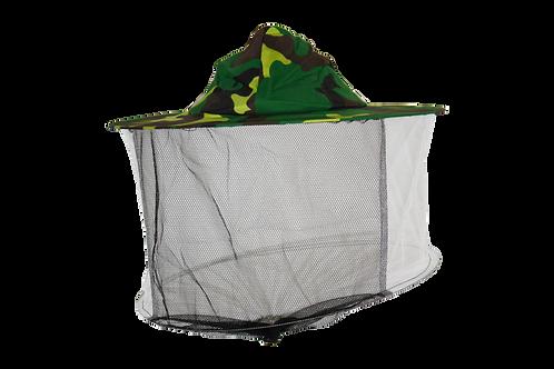 Včelársky klobúk jednoduchý maskáčový