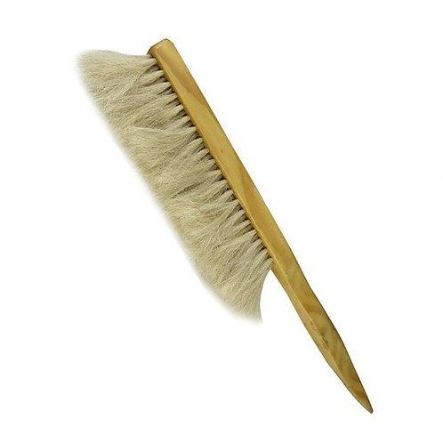 Metlička 4-radová prírodná, drevená rúčka