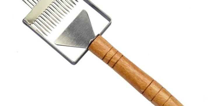 Odviečkovávacia vidlička nerez s vodiacim britom