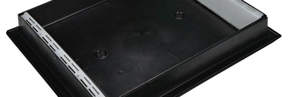 B10 - kŕmidlo plastové 6 litrov čierne