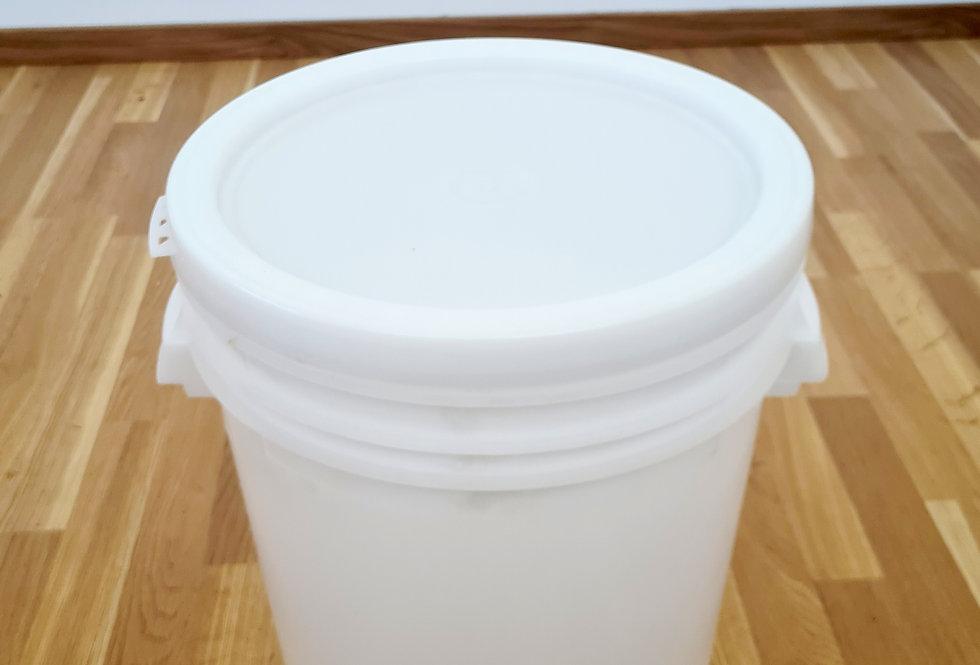 Nádoba na med - plastová s vekom
