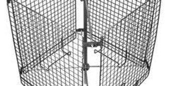 Kôš do medometu - tangeciálny, nerezový ( 4 rámiky )