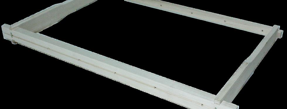 Rámik B navŕtaný s drážkou (zbitý) 10ks