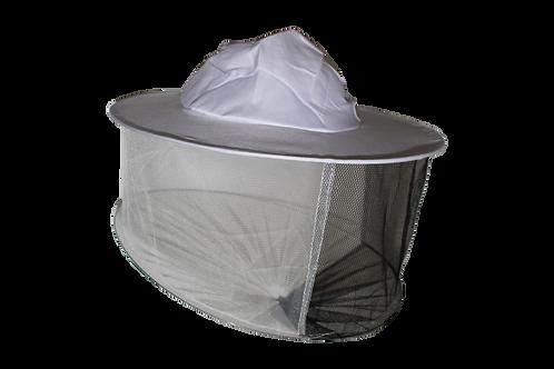 Včelársky klobúk jednoduchý biely