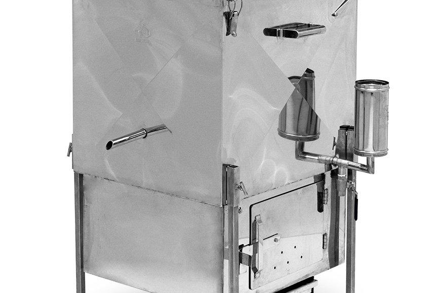 Parná voskotopka / parák veľký - tuhé palivo a plyn